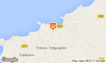 Map Trevou Treguignec One-room studio flat 101648