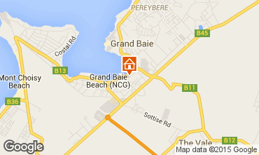 Map Grand Baie Apartment 90950