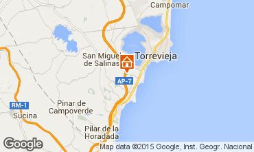 Map Torrevieja Villa 84481