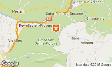 Map Aix en Provence House 93999