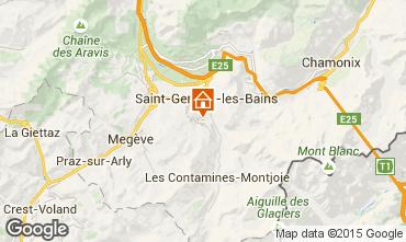 Map Megève Chalet 16662