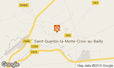 Map Mers Les bains Self-catering property 76829
