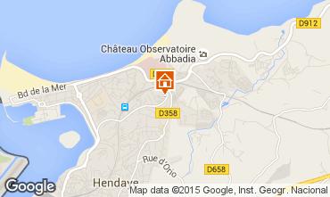 Map Hendaye Apartment 15735