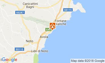 Map Avola Villa 16981