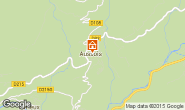 Map Aussois Apartment 392