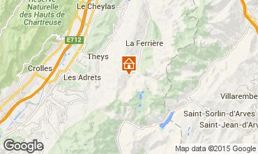 Map Les Sept Laux Apartment 40301