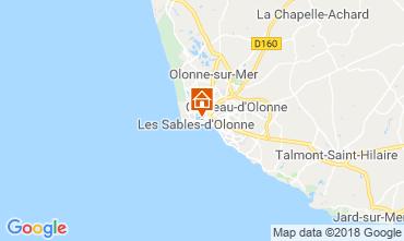 Map Les  Sables d'Olonne House 117483