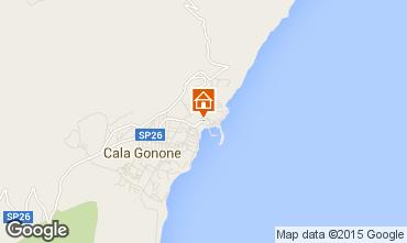Map Cala Gonone Apartment 59401