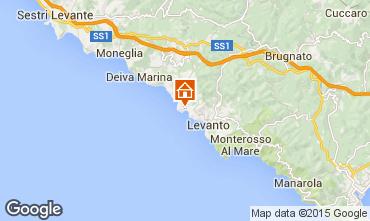Map Bonassola Apartment 84222