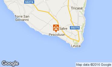 Map Pescoluse Offbeat accommodation 103154