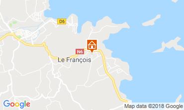 Map Le François Bungalow 117034