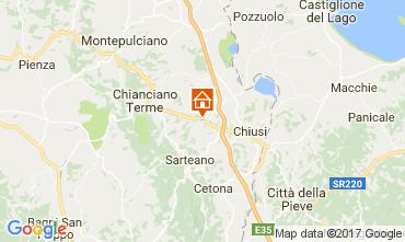 Map Chianciano Terme Villa 111227