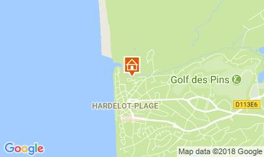 Map Hardelot Villa 114204
