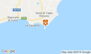 Map Isola di Capo Rizzuto Apartment 29262
