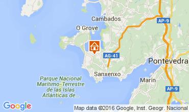 Map Sanxenxo Apartment 105371