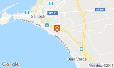 Map Gallipoli Apartment 119719