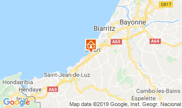 Map Biarritz House 6366