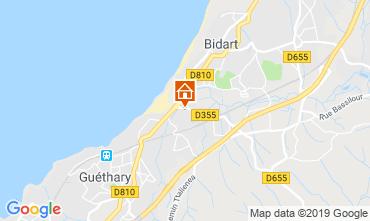 Map Bidart House 6366