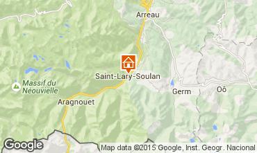 Map Saint Lary Soulan Chalet 102169