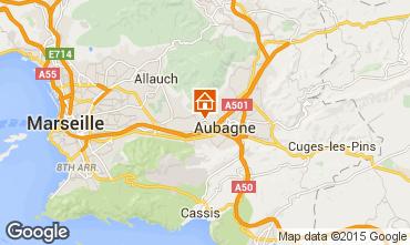 Map Aubagne Villa 88007