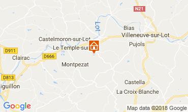 Map Dolmayrac Self-catering property 115116