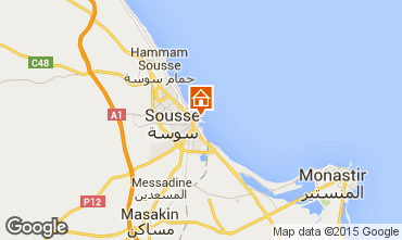 Map Sousse Apartment 25792