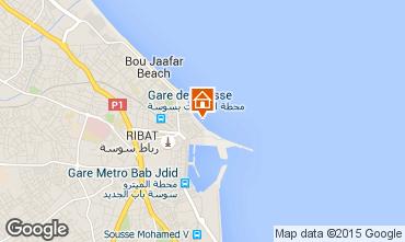 Map Sousse Apartment 25792