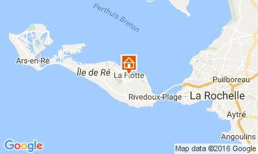 Map La Flotte en Ré House 106733