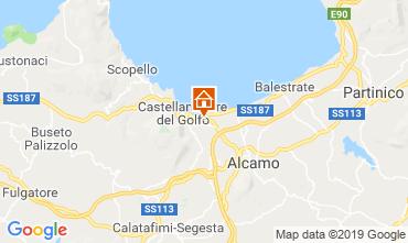 Map Castellammare del Golfo Villa 117696