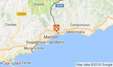 Map Menton Apartment 104588