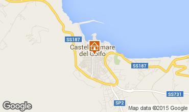 Map Castellammare del Golfo Apartment 69495