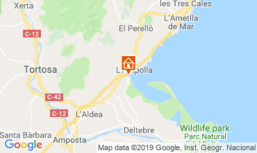 Map L'ampolla House 118389