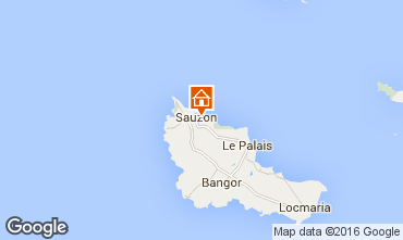 Map Sauzon House 70518