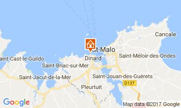 Map Dinard Offbeat accommodation 111904