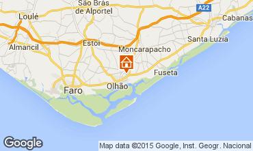 Map Olhão Apartment 9115