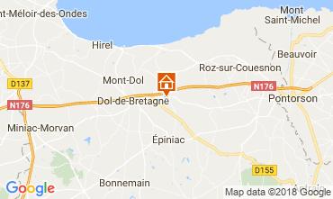 Map Dol-de-Bretagne House 114331
