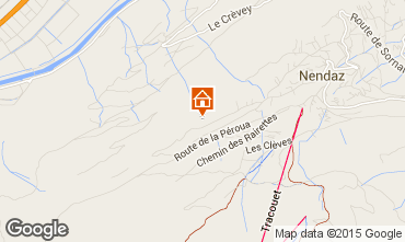 Map Nendaz Chalet 4726