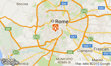 Map Rome Apartment 49548