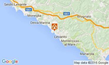Map Bonassola Apartment 21472