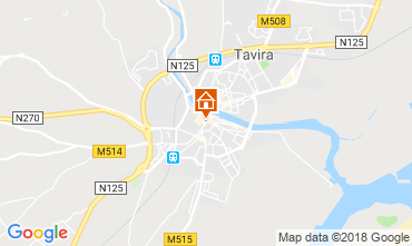 Map Tavira Studio apartment 55990