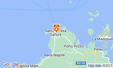 Map Santa Teresa di Gallura Villa 110589