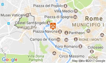 Map Rome Apartment 109742