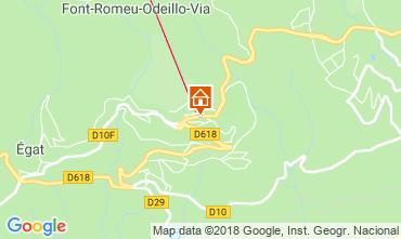 Map Font Romeu Apartment 117227