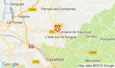 Map Isle sur la Sorgue Apartment 112937