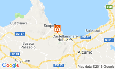 Map Scopello Villa 117091