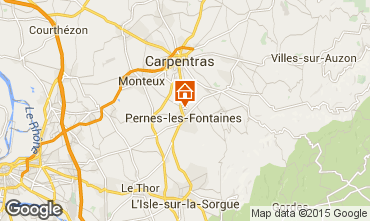 Map Pernes les Fontaines House 94169