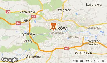 Map Kraków Apartment 15059