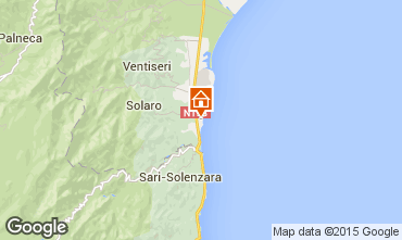 Map Solenzara Villa 96837