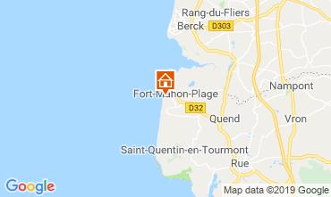 Map Fort Mahon Apartment 117611