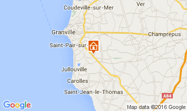 Map Granville Self-catering property 103621